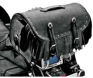 All American Rider 3001RCF Large Travelers Bike Rack Bag with Rivets and Fringe