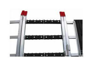 Bowdriks Industries 4051 RAMP-CROS-BAR-PRO 1-KT Ramp Crossbar Protector - 2pcs., 6 Screws