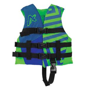 Airhead Trend Closed Side Boys Life Vest (Blue, 30-50 Lbs.)