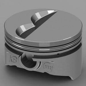KB PERFORMANCE PISTONS 4.030 in Bore Small Block Chevy Piston 8 pc P/N KB112.030