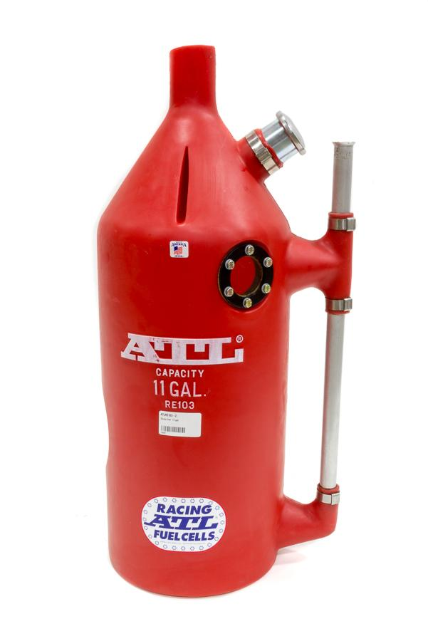 ATL 11 Gal Round Red Plastic Super Trick Utility Jug P/N RE103-2