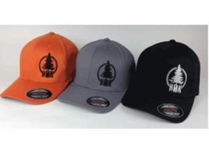 HMK Stamp Flex-Fit Hat (Gray, OSFM)
