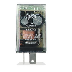 Grote 2 terminal, 16-Lamp Electronic Flasher (44690)