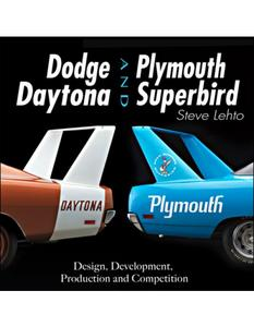 S-A Books Dodge Daytona and Plymouth Superbird Book P/N CT543