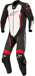 Alpinestars Missile Leather Racing Suit Black/White/Red Mens Size 58