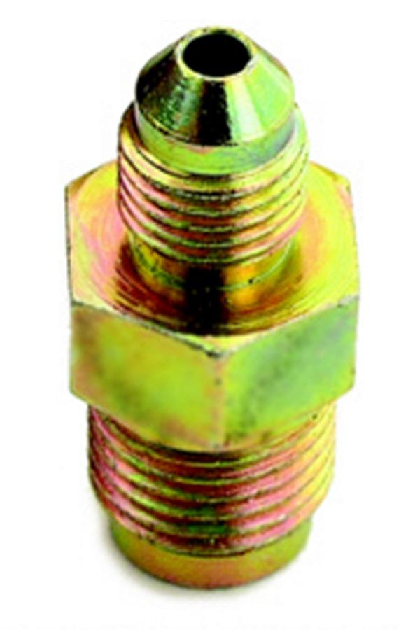 A-1 Products 3AN Male to 3/8-24in Male Inv Flare Steel Fitting P/N 1032403