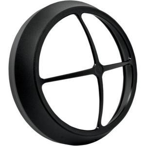 Performance Machine 0207-2005CBR-SM Crossbar 7in. Vision Series Headlight Bezel - Black Ops