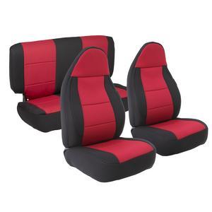 Smittybilt 471330 Neoprene Seat Cover 03-06  Wrangler (LJ) & (TJ) Front/Rear