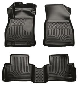 WeatherBeater Floor Mats Liners Husky Black Front & Rear for 11-12 Nissan Juke