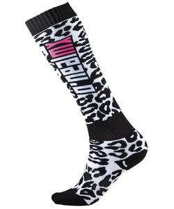 ONeal Pro MX Wild Womens Socks Wild (White, OSFM)