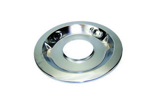 SPECIALTY CHROME 14 in Round Drop Base Chrome Air Cleaner Base P/N 7112B
