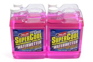 Redline Oil Supercool With WaterWetter Coolant Additive 1/2 Gal 4 pc P/N 80225