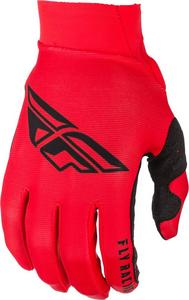 Fly Racing Kinetic Era Mesh Youth Gloves Navy/White/Red (Red, 6)