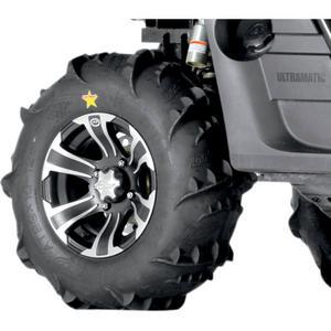 ITP 44347L Dune Star, SS312, Tire/Wheel Kit - 26x12 - Matte Black/Machined