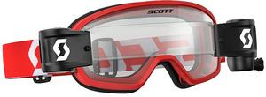 Scott USA Buzz WFS Youth Goggles Red/White (Red, OSFM)