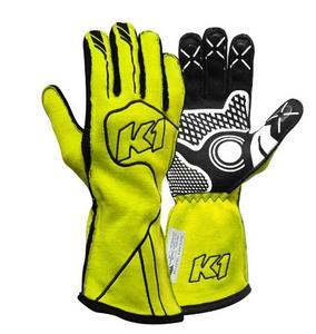 K1 RACEGEAR 23-CHP-FY-S Glove Champ Flou Yellow Small FIA / SFI 5