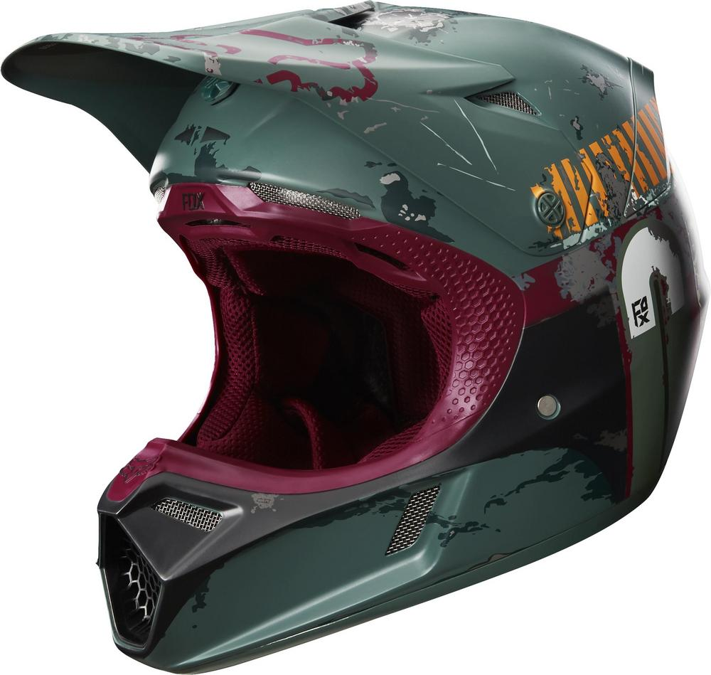 Fox V3 Boba Fett Limited Edition Helmet (Green, Large)