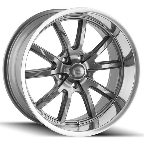 "Ridler 650 15x7 5x5"" +0mm Gunmetal Wheel Rim 15"" Inch"