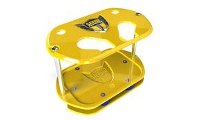 SAVIOR PRODUCTS Optima Type 34/78 Yellow Show Case Battery Tray P/N SC-O34-Y