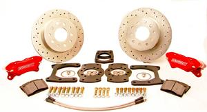 SSBC Performance Brakes W125-42 Competition Drum To Disc Kit