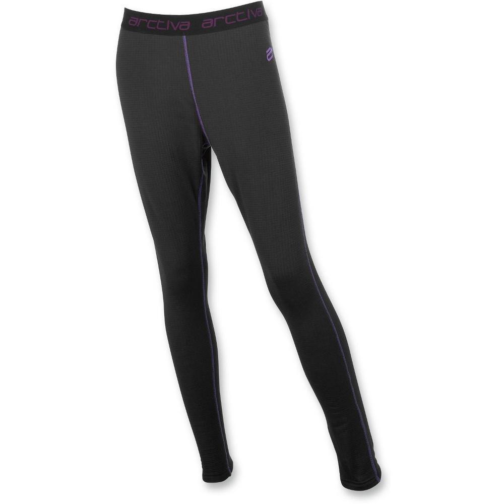 Arctiva Insulator Midweight Fleece Womens Pants (Black, XX-Large)