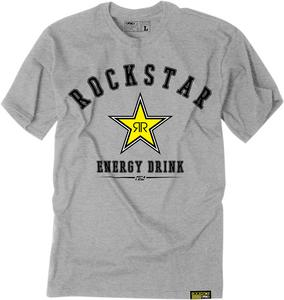 Factory Effex Licensed Rockstar All-Star T-Shirt Grey Mens Size 2XL