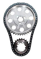 JP PERFORMANCE 0.005 in Shorter Double Roller SBC Timing Chain Set P/N 5981-LB5