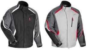Cortech Adult Snowmobile Cold Weather Journey 3.1 Jacket Gunmetal/Red L