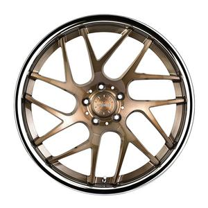 """20"""" VERTINI RF1.4 FORGED BRONZE CONCAVE WHEELS RIMS FITS BENZ W216 CL550 CL55"""