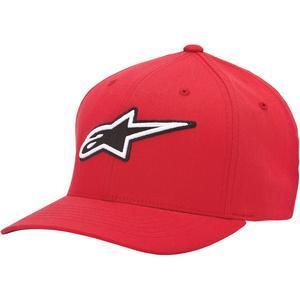 Alpinestars Corporate Hat (Red, Small - Medium)