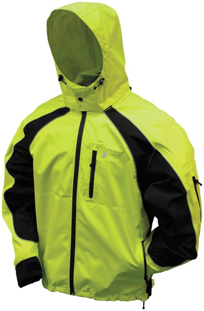 Frogg Toggs Kikker II Jacket Lime/Black (Green, Small)