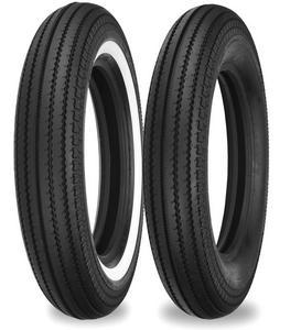 Shinko 87-4632 270 Super Classic Front/Rear Tire - 4.50-18 W/W