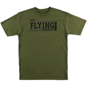 FMF Racing Back in the Day T-Shirt (Green, Medium)
