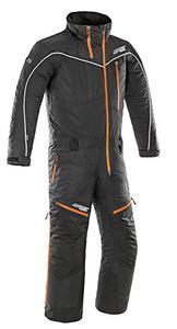 Rocket Snowgear Adult 1 Piece Titan Snowmobile Waterproof Snow Suit Black XL
