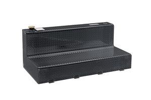 Dee Zee DZ92747B Specialty Series L-Shaped Tool Box/Liquid Transfer Tank