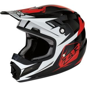 Z1R Rise Ascend Youth Helmet (Red, Small)
