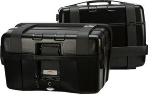 GIVI Dual Sport Motorcycle Trekker 46 Liter Side Cases Black (Pair) TRK46BPACK2A