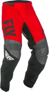 Fly Racing F-16 Youth Pants Red/Black/Gray (Red, 24)