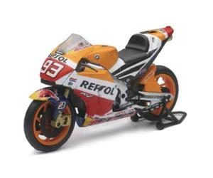 New Ray Toys 57753 Street Bike 1:12 Scale Motorcycle - Honda Marc Marquez RC213V 2015
