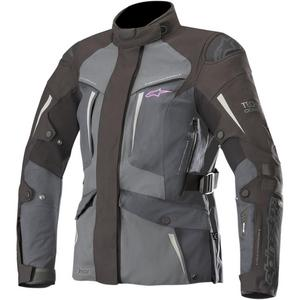 Alpinestars Stella Yaguara Drystar Tech Air Womens Jacket Black/Dark Gray/Mid Gray (Black, Medium)