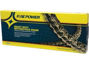 Fire Power 530FPH-112 530H Heavy Duty Chain - 112 Link - Natural