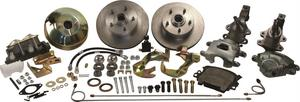 SSBC Performance Brakes A123-1DS Drum To Disc Brake Conversion Kit