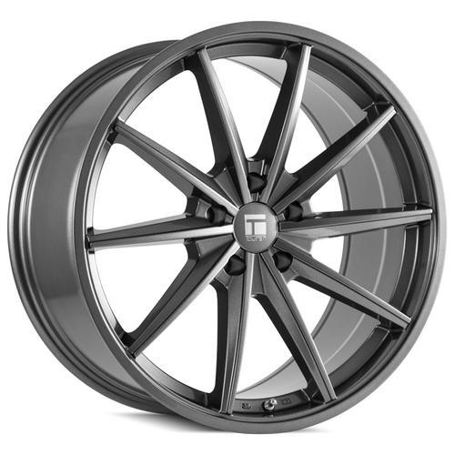 "Touren TF02 Flow Formed 20x10 5x4.5"" +40mm Gunmetal Wheel Rim 20"" Inch"