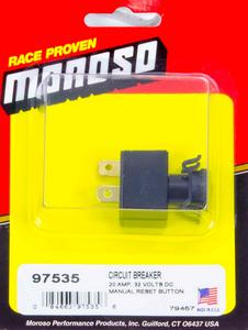 Moroso 20 amp Circuit Breaker P/N 97535