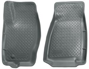 Husky Classic Front Floor Liners for Commander Grand Cherokee - Grey 30612