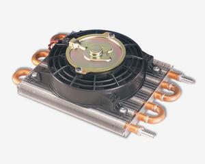 Flex-A-Lite Cooler/Fan combo Remote Transmission w/ No.106 fan, (6 Pass) 3/8 bar