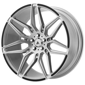 "4-Asanti ABL-11 Sirius 20x8.5 5x112 +38mm Brushed Wheels Rims 20"" Inch"
