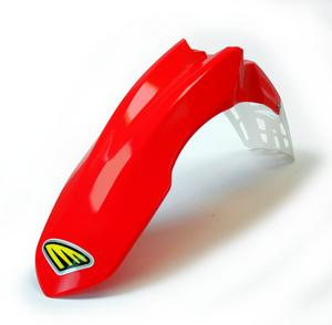 Cycra Red Vented Front Fender For Honda CRF 250 R 10-13, 450 R 09-12