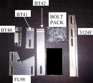 Owens Products 10-1125 TranSender Running Board Bracket Kit