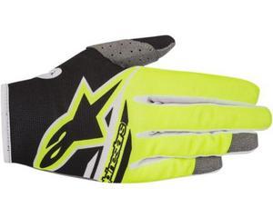 Alpinestars Radar Flight Gloves Black/Yellow Fluo (Yellow, XX-Large)